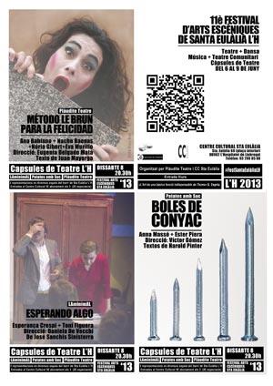 XI Festival de Artes Escenicas de Santa Eulalia LH 2013