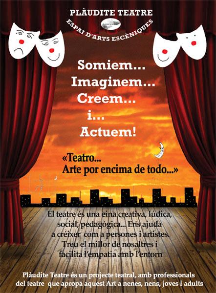 Plaudite Teatre - Espai d'Arts Escèniques - Curs 2014-15