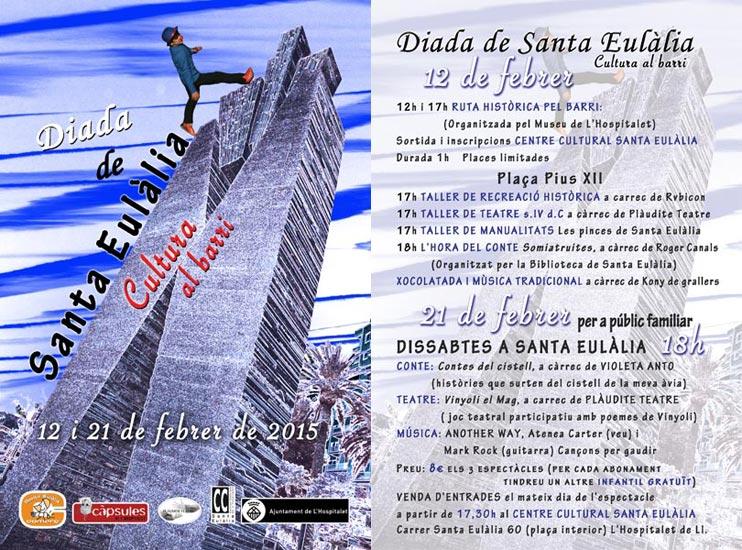Diada de Santa Eulalia i Dissabtes febrer 2015