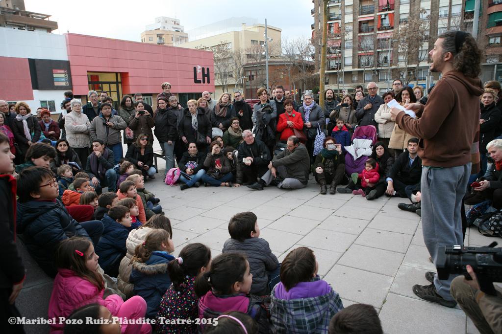 Lectura del Manifest del Dia Mundial del Teatre 2015