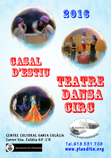 Casal d'Estiu de Teatre Dansa i Circ