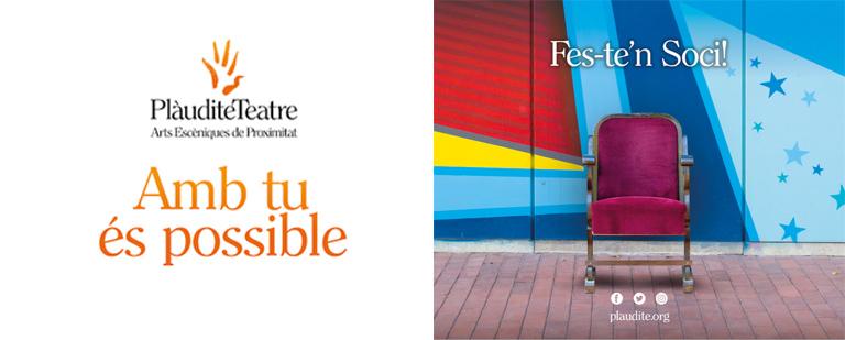 (Català) Fes-te'n soci o sòcia de Plàudite Teatre