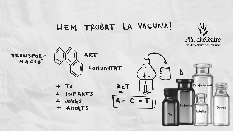 Vacuna de Plàudite Teatre que cura la segregació